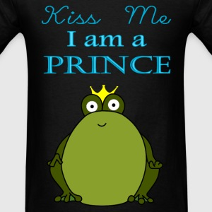 Kiss Me Im a Prince - Men's T-Shirt