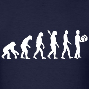 Evolution delivery man T-Shirts - Men's T-Shirt