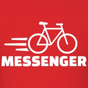 Bike messenger T-Shirts - Men's T-Shirt