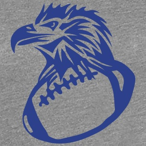 football rugby american eagle head Women's T-Shirts - Women's Premium T-Shirt