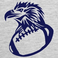 football rugby american eagle head Tanks