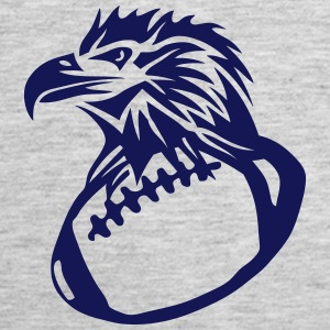 football rugby american eagle head Tanks - Women's Premium Tank Top