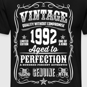 1992 Aged to Perfection - Men's Premium T-Shirt