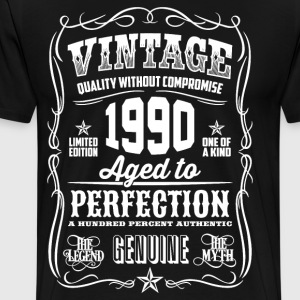 1990 Aged to Perfection - Men's Premium T-Shirt