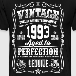 1993 Aged to Perfection - Men's Premium T-Shirt
