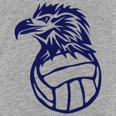 water polo volleyball club head eagle Kids' Shirts