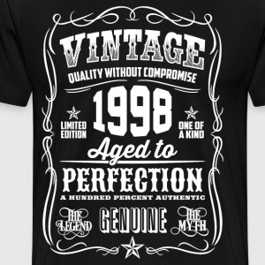 1998 Aged to perfection - Men's Premium T-Shirt