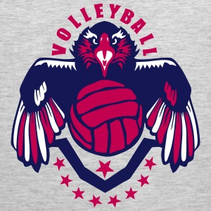 volleyball eagle wing logo flag usa Sportswear - Men's Premium Tank