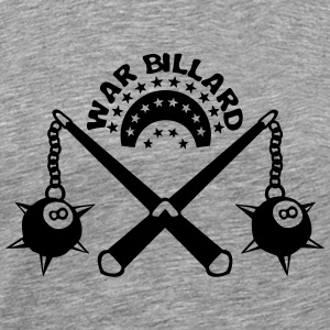 billiard weapon medieval scourge ball T-Shirts - Men's Premium T-Shirt