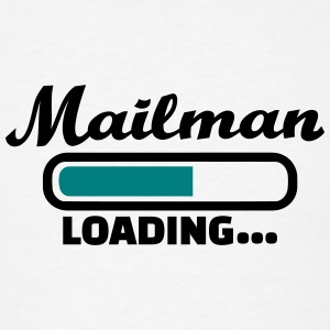 Mailman loading T-Shirts - Men's T-Shirt