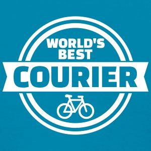 World's best bike courier Women's T-Shirts - Women's T-Shirt