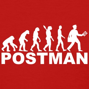 Evolution postman Women's T-Shirts - Women's T-Shirt