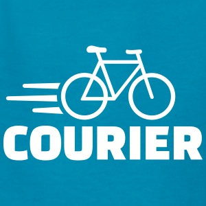 Bike courier Kids' Shirts - Kids' T-Shirt
