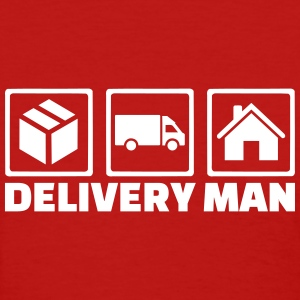 Delivery man Women's T-Shirts - Women's T-Shirt
