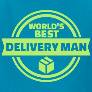 World's best delivery man Kids' Shirts - Kids' T-Shirt