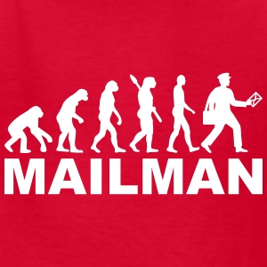 Evolution mailman Kids' Shirts - Kids' T-Shirt