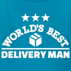 Best delivery man Kids' Shirts