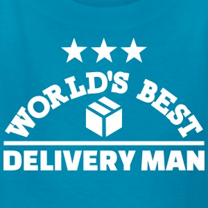 Best delivery man Kids' Shirts - Kids' T-Shirt