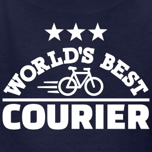 World's best bike courier Kids' Shirts - Kids' T-Shirt