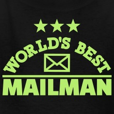 World's best mailman Kids' Shirts
