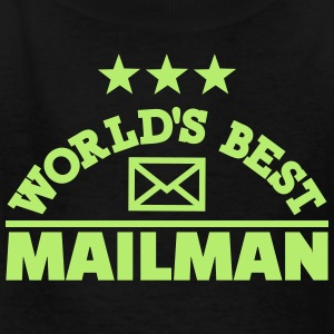 World's best mailman Kids' Shirts - Kids' T-Shirt