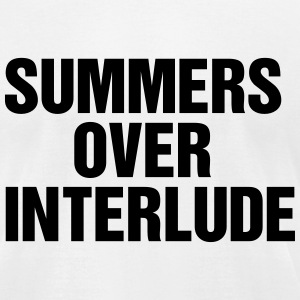 Summers over Interlude T-Shirts - Men's T-Shirt by American Apparel