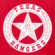 Design ~ Texas Rangers Kids t-shirt