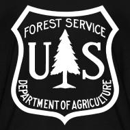 Design ~ US Forest Service logo kids tee shirt