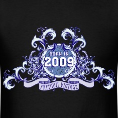 042016_born_in_the_year_2009b T-Shirts