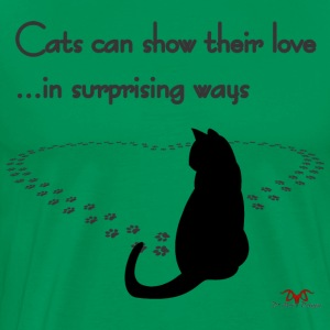 Cat Love--light prints - Men's Premium T-Shirt