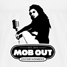 MOB OUT ENT. FEMALE LOGO MEN'S T-SHIRT