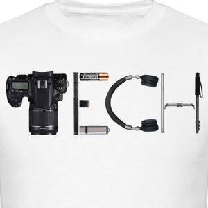 Tech made out of tech - Men's T-Shirt