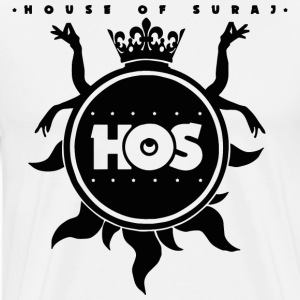 House of Suraj Fundraiser WHITE  - Men's Premium T-Shirt