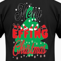 merry effing xmas. T-Shirts