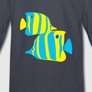 seaworld-tropical2 Kids' Shirts - Kids' Long Sleeve T-Shirt