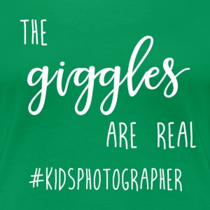 Giggles Are Real - Plus Size T-Shirt - Women's Premium T-Shirt