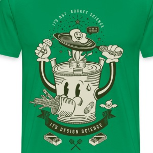 Mr Rocket Stove (green) T-Shirts - Men's Premium T-Shirt