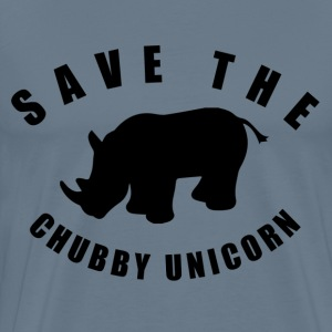 Save The Chubby Unicorn T-Shirts - Men's Premium T-Shirt
