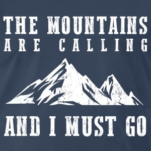 The Mountains Are Calling T-Shirts - Men's Premium T-Shirt