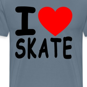 i_love_skate - Men's Premium T-Shirt