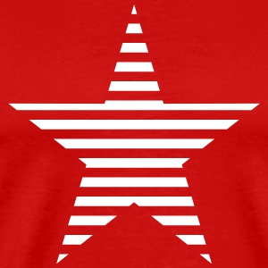 striped star Shirt - Men's Premium T-Shirt