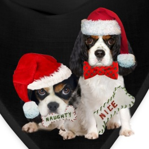 King Charles Naughty or Nice  Caps - Bandana