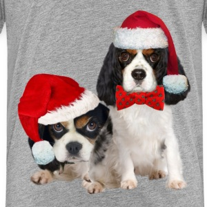 Two king charles christmas Baby & Toddler Shirts - Toddler Premium T-Shirt