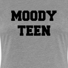 Moody Teen Women's T-Shirts