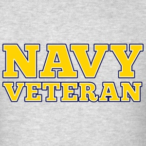 Navy Veteran T-Shirts - Men's T-Shirt
