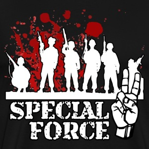 SPECIAL FORCE TWO (WHITE) - Men's Premium T-Shirt