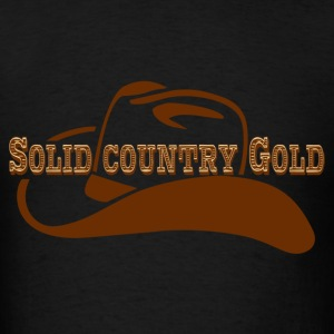 Solid Country Gold - Men's T-Shirt
