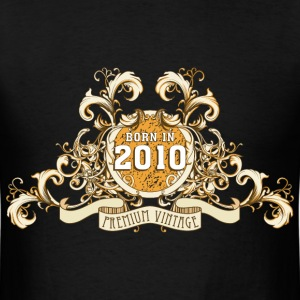 042016_born_in_the_year_2010a T-Shirts - Men's T-Shirt