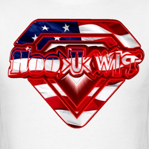 Hoo U wiT Flag - Men's T-Shirt