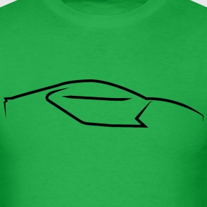 Supercar Side Logo T-Shirts - Men's T-Shirt